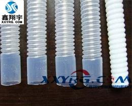 XY-0504耐高温耐强酸套聚四氟乙烯PTFE FEP铁氟龙波纹软管